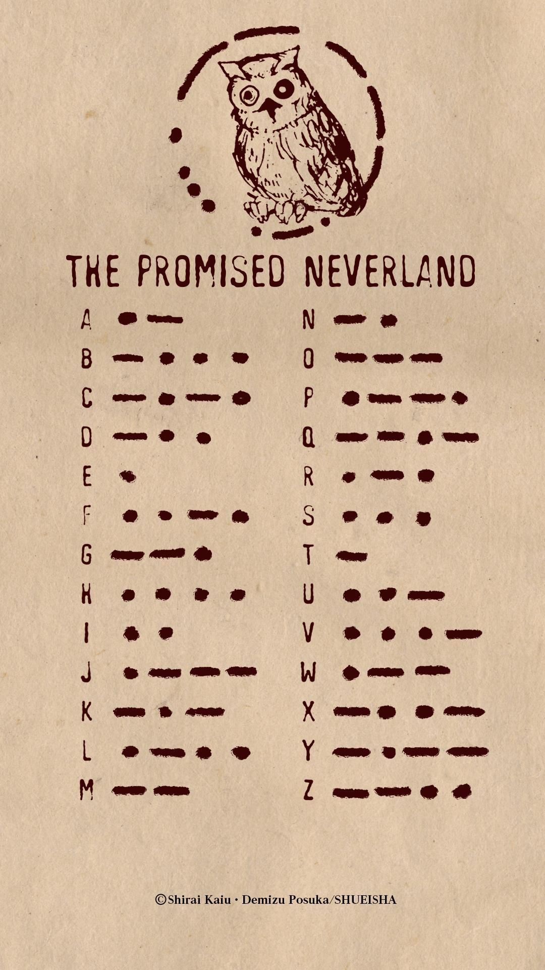 約束のネバーランド Twitterアイコン ヘッダー スマホ用壁紙